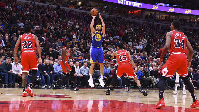 NBA: settimana da urlo tra i 50 di Rose e le triple di Thompson