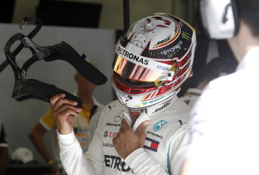 F1, pole e record del circuito per Hamilton ad Abu Dhabi: Leclerc non fa l'ultimo tentativo