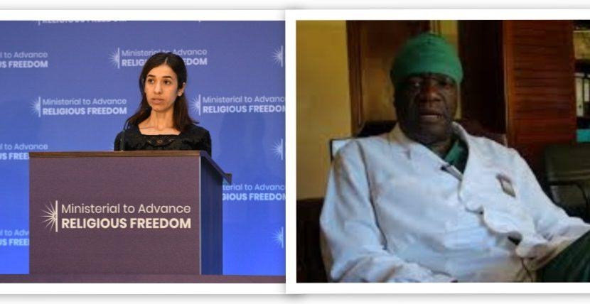 Nobel per la Pace assegnato a Denis Mukwege e Nadia Murad
