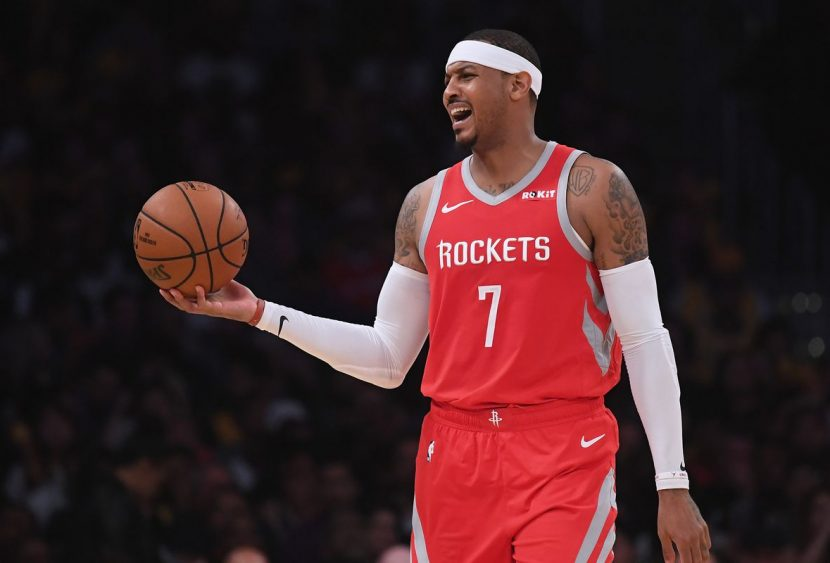 NBA: piccole crepe in casa Golden State. Houston, era Melo il problema?