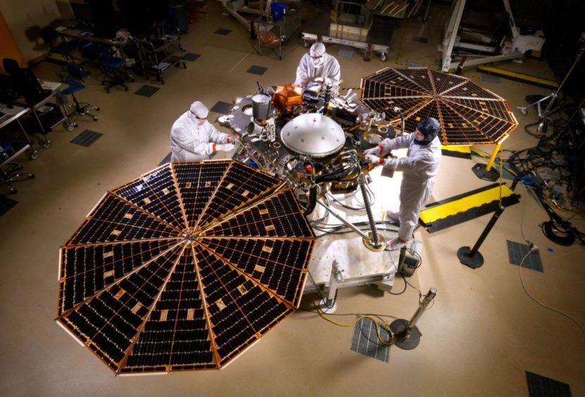 InSight approda su Marte
