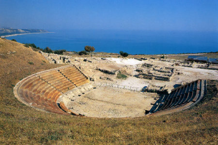 eraclea minoa - Teatro Greco