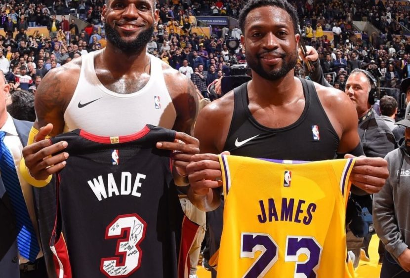 L'ultima notte di Dwyane Wade allo Staples Center