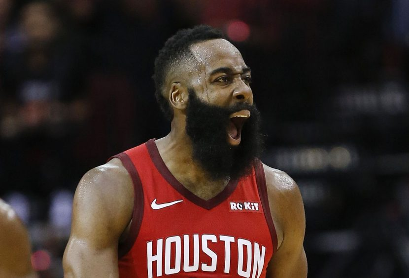 NBA: Rockets trascinati da Harden, stagione no per i Wizards