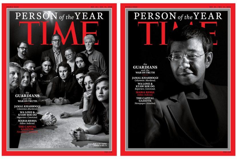"""""""Time"""": i giornalisti """"guardiani della verità"""" sono le persone dell'anno"""
