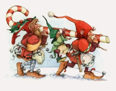 Elfi di Babbo Natale