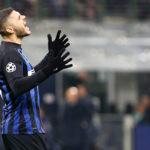 Inter- Psv - Champions League 2018/19 Gruppo B - Nella foto: Mauro Icardi si dispera