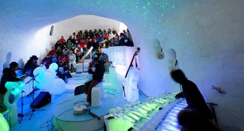 """Ghiaccio in musica: Tim Linhart e i suoi """"ice-concert"""" da brividi"""