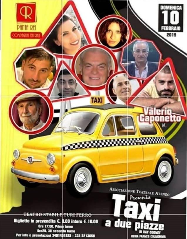 """Al Teatro """"Turi Ferro"""" di Acireale in scena """"Taxi a due piazze"""""""