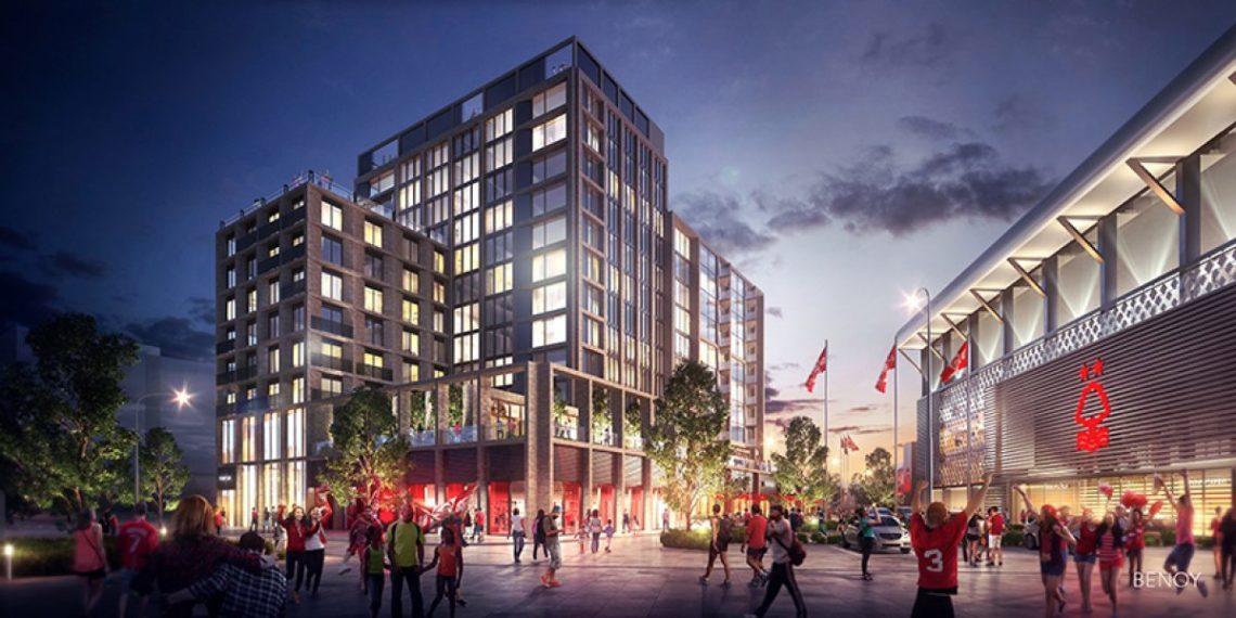 A vision of the future: ecco come sarà lo stadio del Nottingham Forest