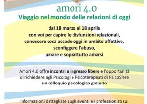 Dal 22 marzo parte a Bologna l'iniziativa Amori 4.0