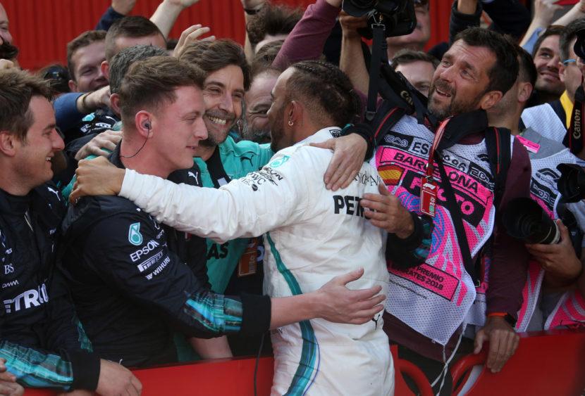F1: Gara 1000 è di Hamilton, primo podio per Vettel ma la rossa è lontana