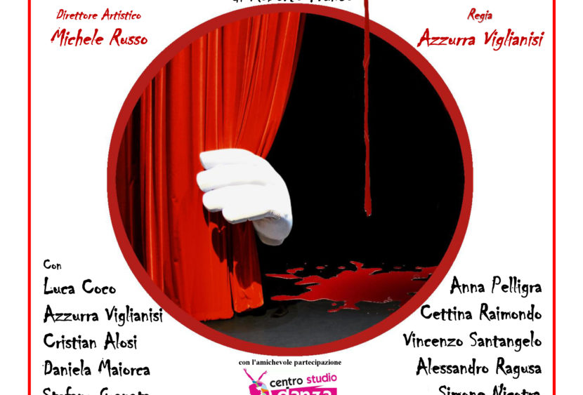 """""""Delitto in palcoscenico"""" in scena al Teatro di via Ravanusa il 6, 7 e 14 aprile"""