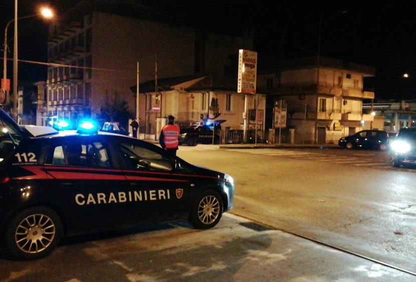 """Carabinieri, tutti i controlli della """"movida"""" del fine settimana"""