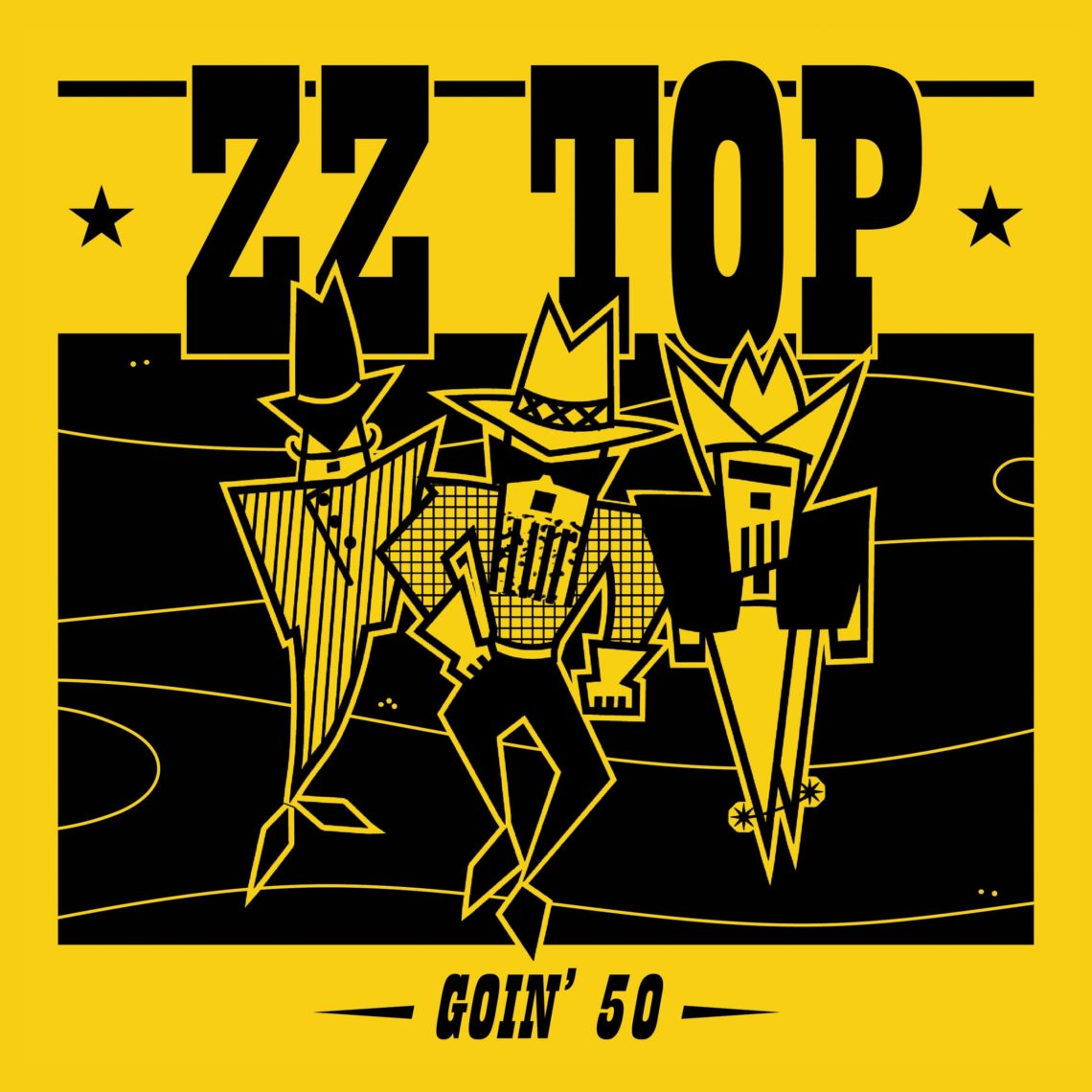 """""""ZZ Top are goin' 50"""" la nuova raccolta di 50 brani Goin' 50 spazia nell'intera carriera del Trio del Texas"""