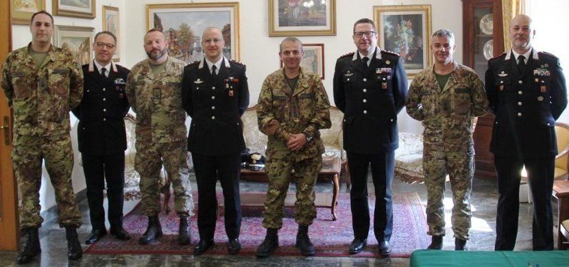 """A Catania, siglato protocollo d'intesa tra il 62° Reggimento di Fanteria """"Sicilia"""" e il Comando Provinciale dei Carabinieri"""