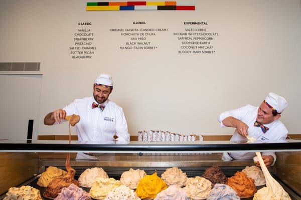 Booza Ice Cream: il gelato che non si scioglie conquista New York