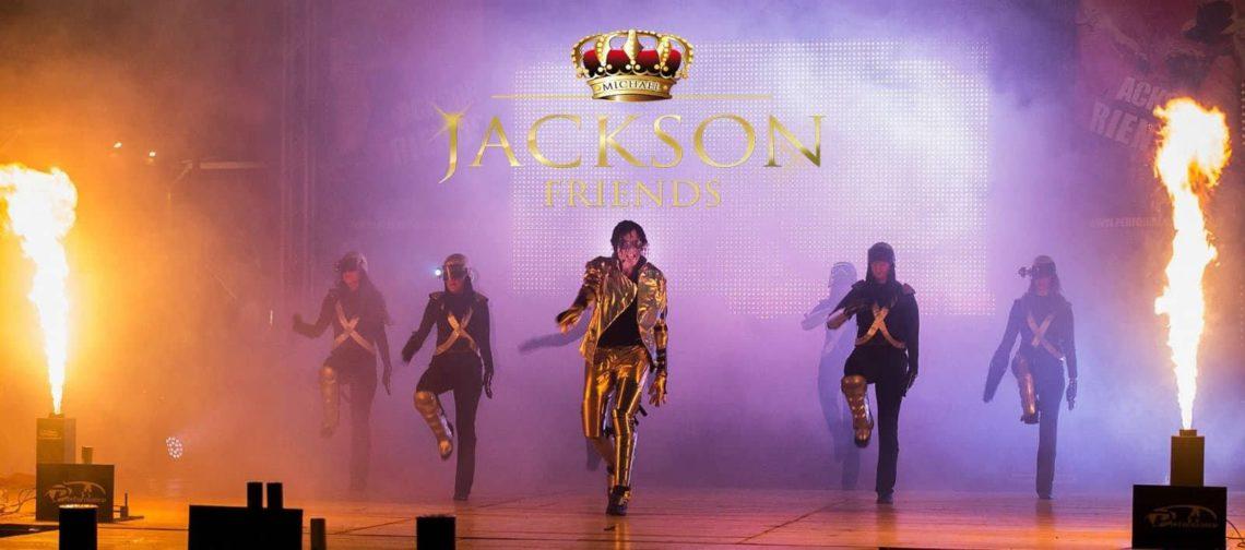 """""""Jackson Friends"""" live show il tributo al re del pop Michael Jackson"""