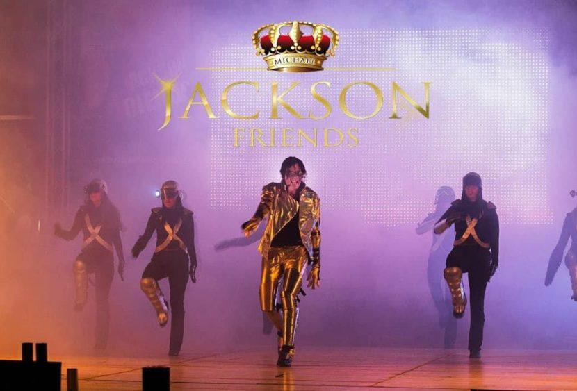 """Jackson Friends"" live show il tributo al re del pop Michael Jackson"