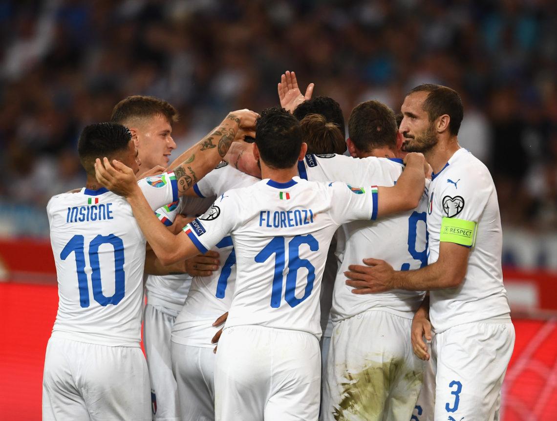 Italia verso Euro 2020: tris alla Grecia e primo posto nel girone