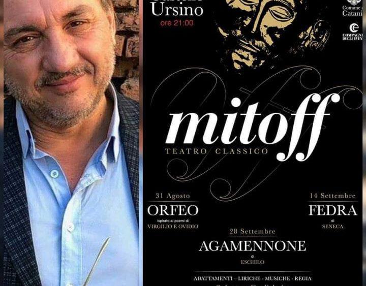 Al via la rassegna di teatro classico Mitoff diretta da Salvo Guglielmino