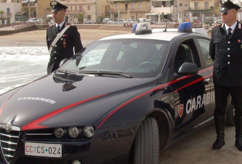Castelvetrano: spaccio di stupefacenti, quattro arresti dei Carabinieri