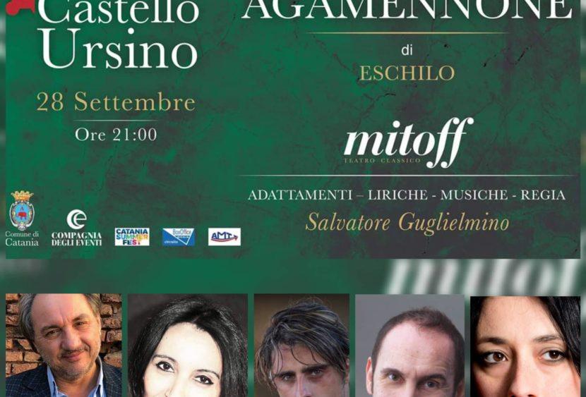 """""""Agamennone"""" spettacolo conclusivo di Mitoff l'apprezzata rassegna dedicata al teatro classico"""