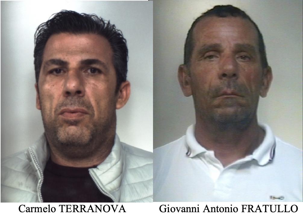 Eseguiti due ordini di carcerazione per associazione mafiosa