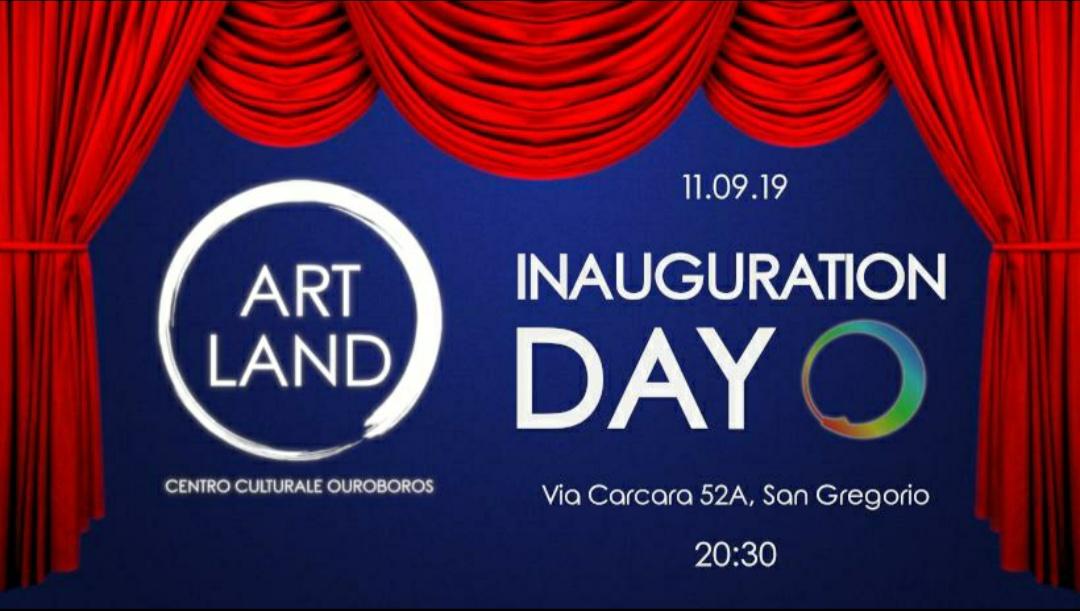 L´Associazione Ouroboros presenta: ArtLand, giorno d'inaugurazione