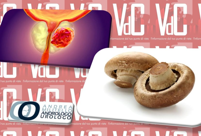 Mangiare i funghi protegge dal cancro della prostata