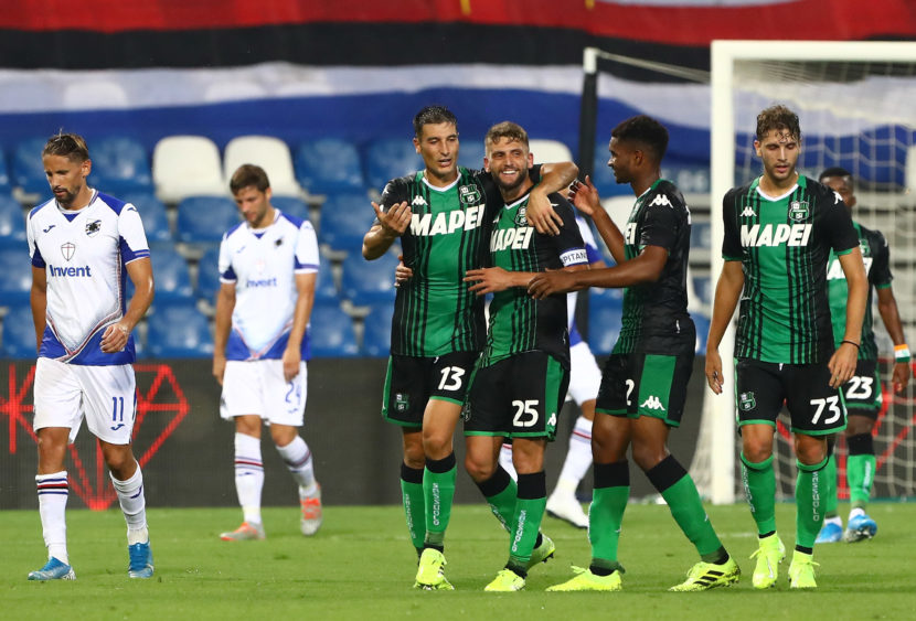 Top & Flop Serie A: tripletta per Berardi, serata nefasta per Koulibaly