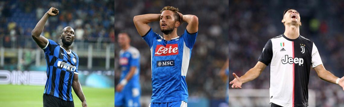 L'inter fa sul serio, il Napoli cade, la Juve traballa: continua la lotta a 3