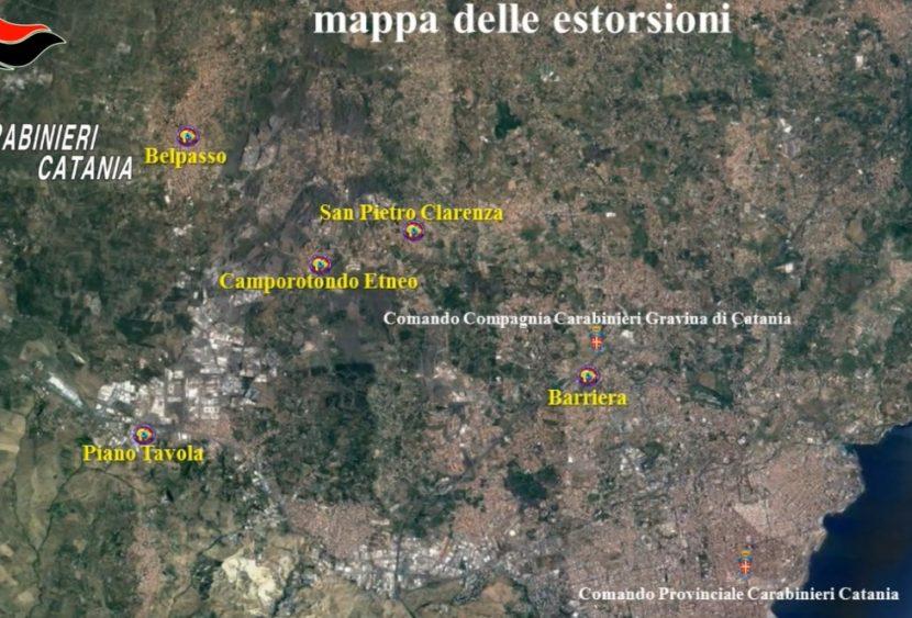 Oltre 30 estorsioni con aggressioni e minacce: così i Santapaola Ercolano chiedevano soldi nel Catanese