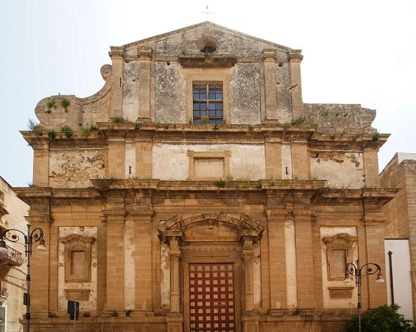 La chiesa del collegio di Sciacca: un pezzo di storia di oltre 400 anni