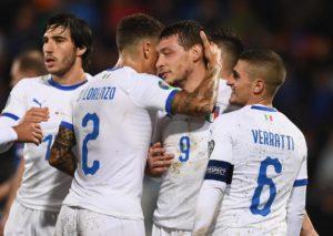 Italia incontenibile: goleada col Liechtenstein, Mancini nella storia