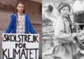Greta Thunberg viaggia nel tempo? Una foto di 120 anni fa ne ritrae il volto
