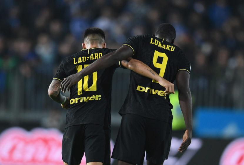 Inter: i gemelli del gol Lukaku e Lautaro fanno sognare
