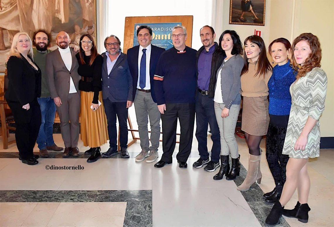 """Presentato alla Sala Giunta di Palazzo degli Elefanti """"Il Paradiso di Dante"""" del regista Salvatore Guglielmino"""