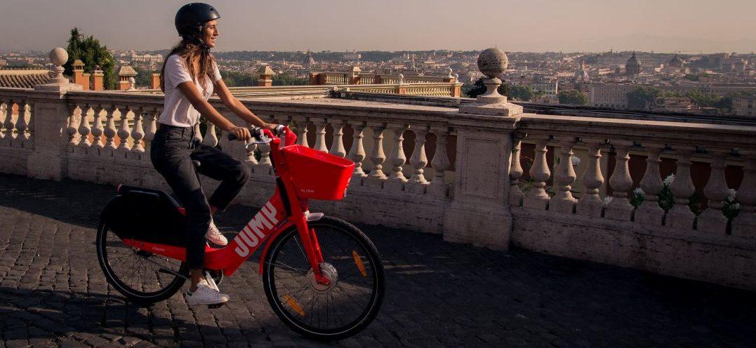 """Vorresti noleggiare una bicicletta in città? Con """"Uber Jump"""", puoi!"""