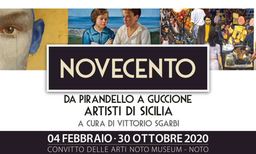 """A Noto, """"Novecento – da Pirandello a Guccione"""", artisti di Sicilia"""