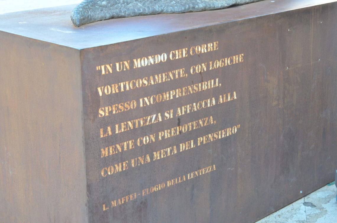 """Monumento """"Lumacone"""". La lumaca Vittoria Sambuca di Sicilia (AG)"""