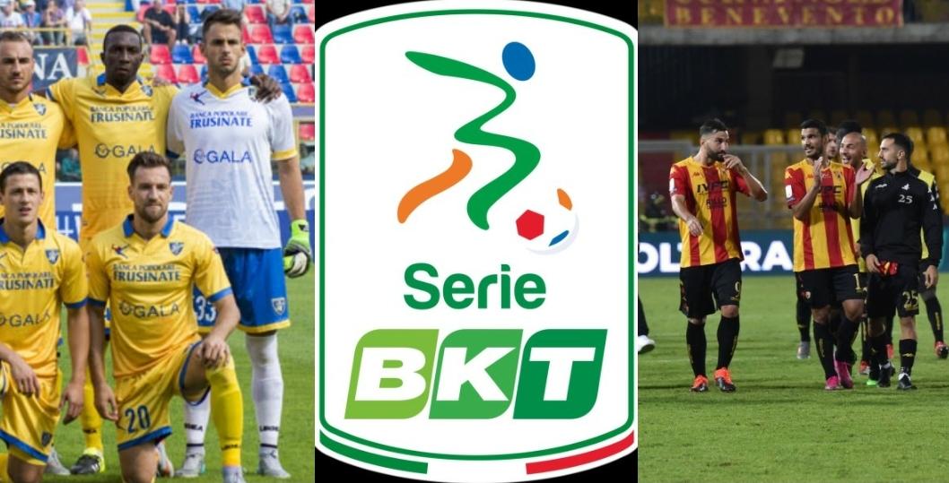 Serie B, 22° giornata: pari in Benevento-Salernitana, il Frosinone si rilancia