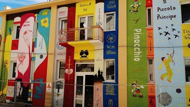 A Biccari (Foggia) una biblioteca a cielo aperto