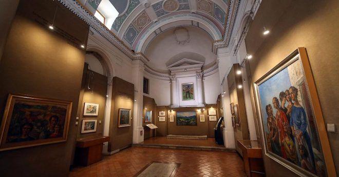 Viaggio siciliano: la pinacoteca di Gianbecchina a Sambuca di Sicilia