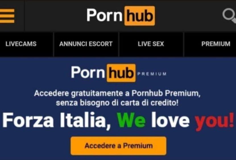 Per sconfiggere la noia da quarantena ci pensa PornHub