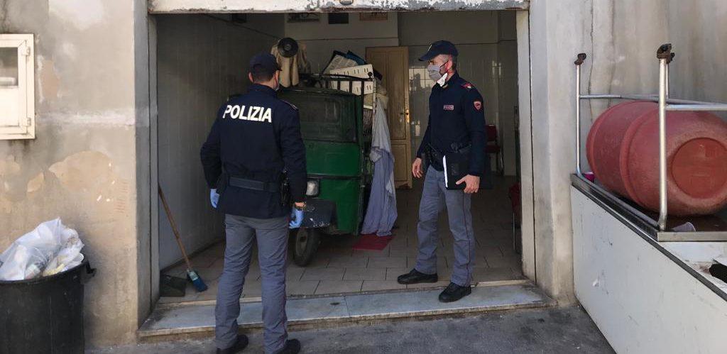 Palermo: locale abusivo è stato sanzionato e sequestrato dalla Polizia di Stato
