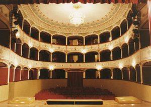 La bellezza del Teatro Comunale di Sambuca di Sicilia