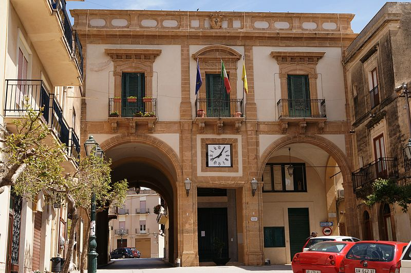 Ultima tappa di Sambuca di Sicilia: Palazzo dell'Arpa