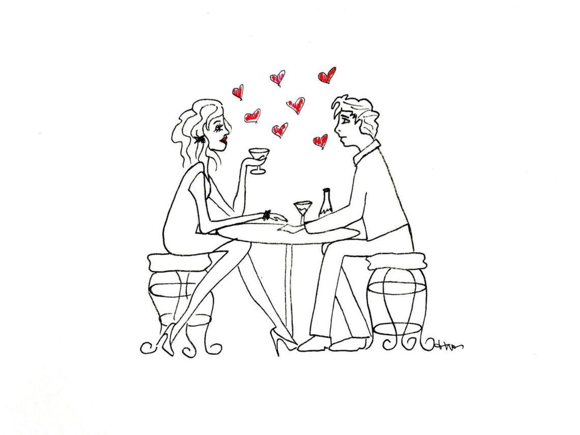 Con la paura dell'intimità, il primo appuntamento esiste ancora?