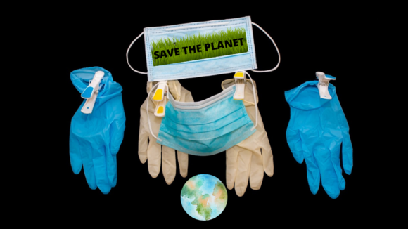 Come proteggere la Terra dall'inquinamento inarrestabile di mascherine e guanti